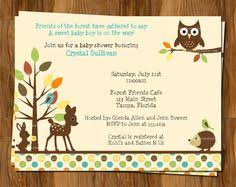woodland baby shower invitations woodland creatures baby shower invitations dhavalthakur