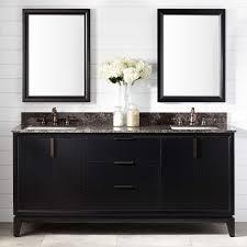 72 talyn mahogany vanity for rectangular undermount sinks