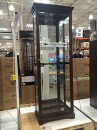 pulaski curio cabinet costco costco 1074782 pulaski sliding door display cabinet costco curio