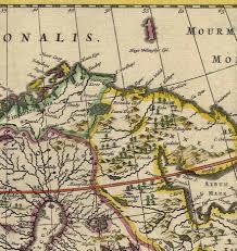 Map From File Kola Peninsula Map From 1660 Jpg Wikimedia Commons