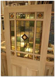 Reclaimed Wood Interior Doors Stained Glass Interior Vestibule Door Doors With Decor 7