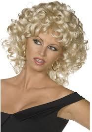 sandy last scene wig grease fancy dress wig escapade uk