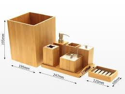 Bathroom Accessories Sets Bamboo Bathroom Accessories Australia Interior Design