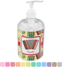 personalized soap vintage musical instruments soap lotion dispenser personalized
