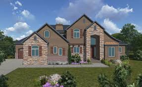 house plans one story 4 bedroom 45 bath french country style 2