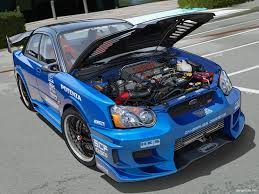 subaru wrx modified wallpaper 1600x1200 subaru wrx hood up desktop pc and mac wallpaper