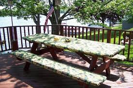 fitted picnic table covers fitted picnic table and bench covers 11emerue