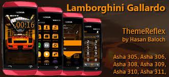 themes nokia asha 308 download lamborghini gallardo theme for nokia asha 305 asha 306 asha 308