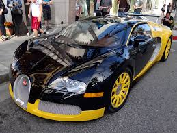 bugatti veyron gold custom yellow u0026 black bugatti veyron spotted in beverly hills