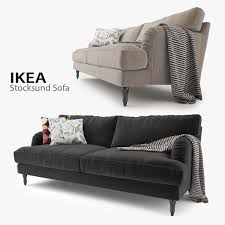 Ikea Leather Sofa Sater Sofa Ikea 3d Models Turbosquid Com