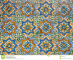 Moroccan Tile Moroccan Vintage Tile Background Stock Photo Image 33231010
