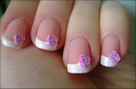 pretty nails french manicure today i u0027ll show you a simple french