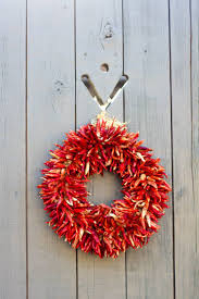 Chili Pepper Christmas Ornaments - chili pepper wreath pictures images and stock photos istock