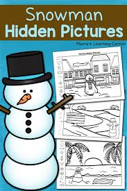 ultimate list snowman homeschool resources printables