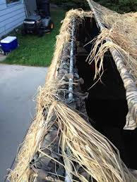 Raffia Grass Duck Blind Duck Hunting Chat U2022 Beavertail Blind Top Openings Waterfowl