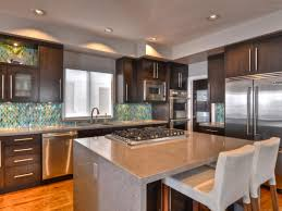 Prefinished Kitchen Cabinets Granite Countertop White Kitchen Cabinets With Backsplash