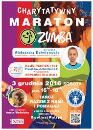 Charytatywny Maraton Zumby   Pruszk  w M  wi Pruszk  w M  wi