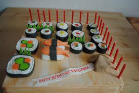 cake sushi birthday cake