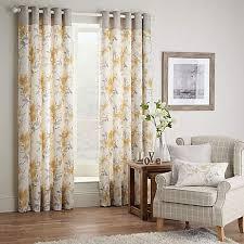 Dunelm Curtains Eyelet Ochre Pandora Lined Eyelet Curtains Dunelm House Pinterest