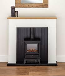 oak electric fire fireplaces ebay