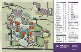 Wsu Campus Map 5 48 Smoke Free Zones