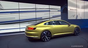volkswagen sports car models new vw sport coupe concept gte slots between passat and phaeton
