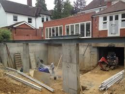 new build basement construction basement ideas