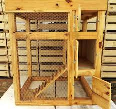 Rabbit Hutch Diy Upcycled Pallet Rabbit Hutch Pallet Furniture