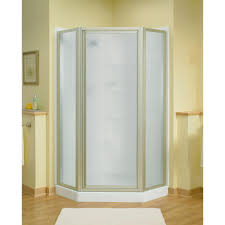 How To Install A Sterling Shower Door Sterling Intrigue 27 9 16 In X 72 In Neo Angle Shower Door In