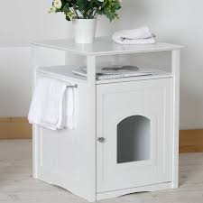 litter box end table merry products allen litter box end table reviews wayfair