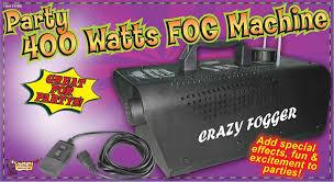 halloween fog machine amazon com forum novelties crazy fogger party 400 watt fog