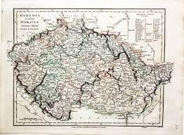 Bohemia Map Austrian Empire Map 1800 Special Offers
