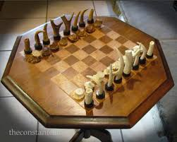 Nice Chess Sets by A Deer Antler Chess Set The Constant Cabin