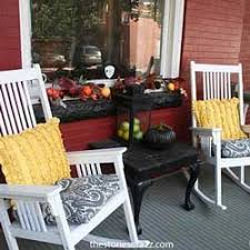 Fall Decorated Porches - outdoor fall decorating ideas for your front porch and beyond