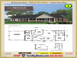 fenwick modular home ranch plan direct priced from all american