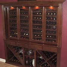 Bar Cabinet With Wine Cooler Get A Custom Home Bar And Built In Wine Storage Cabinet