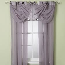 Bed Bath Beyond Sheer Curtains Anya Crushed Voile Window Curtain Sheer And Valance Bed Bath