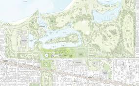 Chicago Riverwalk Map by Obama Presidential Center Plans Revealed In Chicago