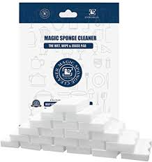 what is the best way to clean melamine cupboards 70pcs magic cleaning eraser sponge melamine foam just add water multi purpose bathroom kitchen floor baseboard wall cleaner 4 3 x 2 8 x 0 8 white