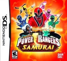 gamerdad gaming children power rangers samurai wii ds