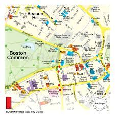boston city map boston city guide by maps