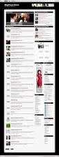 free news magazine style wordpress theme silvery magpress com