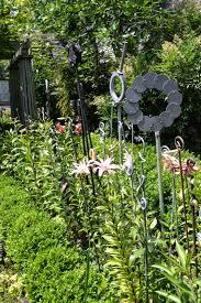 small plant supports the outlaw gardener the garden of karen guzak and warner blake
