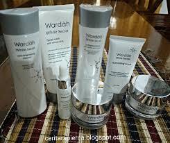 Wardah White Secret Yg Kecil kenangan dan simpanan wardah white secret series skincare dengan