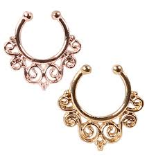 nose jewelry rings images Nose ring and nose piercing rings for that unique special look jpg