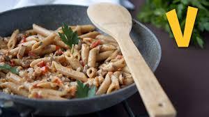 pasta with creamy mushroom sauce youtube