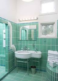 art deco green bathroom tiles ideas and pictures