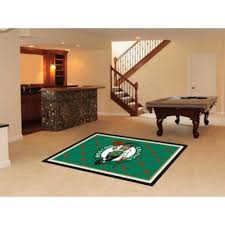 Novelty Coffee Tables by Amazon Com Boston Celtics Rug Sports Fan Area Rugs Kitchen