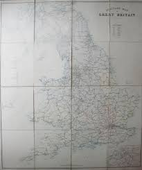 military map of great britain military