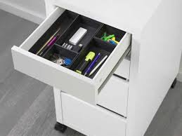 Desk With Filing Cabinet Drawer Storage Drawers Ikea